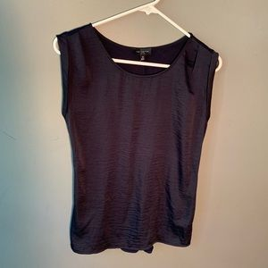 The Limited Sleeveless Blouse Navy Blue
